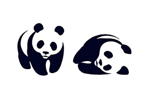 Panda temporaire Tatouages Autocollants imperméables