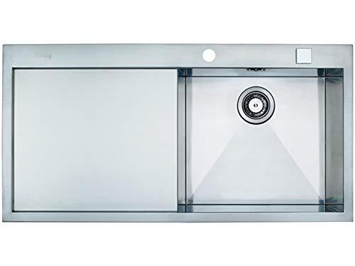 Franke Planar PPX 211 Edelstahl-Spüle flächenbündig Spülbecken Küchenspüle 60US