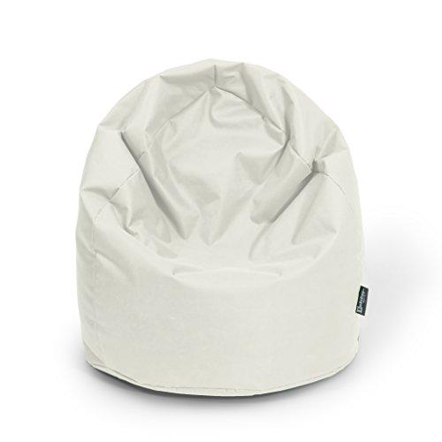 BuBiBag Sitzsack Tropfenform Beanbag Sitzkissen für In & Outdoor XL 300 Liter bis XXXL 470L mit...