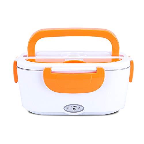 Weehey Scaldavivande Multifunzione Portatile riscaldante Elettrico per Alimenti con scaldavivande con Contenitore Estraibile in Acciaio Inox per Home Office (Spina Americana)