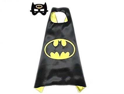 inder Cape und Masken Batman Kostüme Super Hero Kleid bis Batman Kostüme Avengers Batman Fancy Kleid (Einfache Und Günstige Halloween-kostüme Für Kinder)