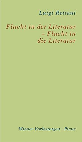 Flucht in der Literatur – Flucht in die Literatur (Wiener Vorlesungen 184)