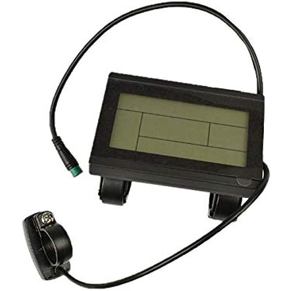 48V Wasserdichtes LED-Bedienfeld Intelligent Elektroroller E-Bike 24//36