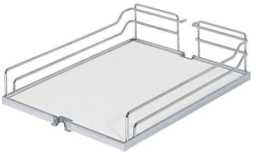 Gedotec Einhängekorb für Kesseböhmer Hoch-Schrank Dispensa | Einhängeboden für 30er Apothekerschrank breite | 250 x 467 x 110 mm | MADE IN GERMANY | 1 Stück - Tablarboden für Apotheker-Auszug Küche