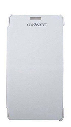 KoldFire Combo of 2 Gionee M2 compatible Premium Quality Flip cover (White and White)  available at amazon for Rs.199
