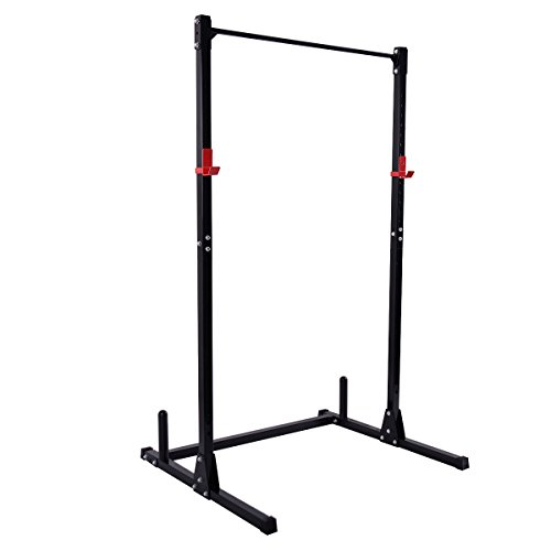 Squat Rack Power Rack Fitness-Rack Hantelständer Hantelablage Kraftstation Fitnessstation Gewichtsscheiben-Ständer Langhanteltraining Kniebeugen