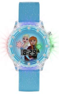 Frozen Girls Digital Watch with Rubber Strap FZN4087