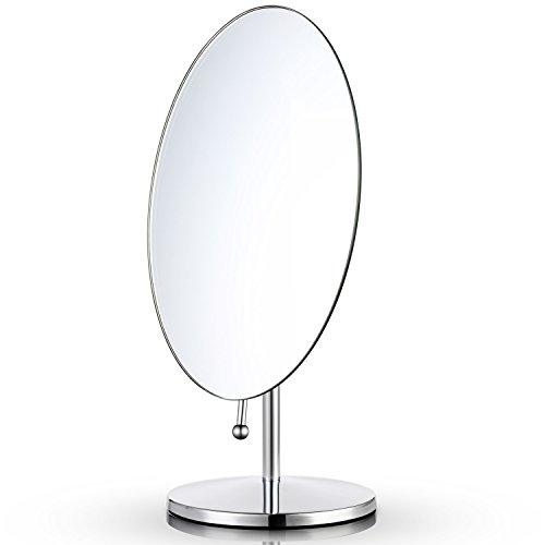 Miusco Tabletop Makeup Kosmetik Spiegel, Oval, 9.8x6.3 Zoll
