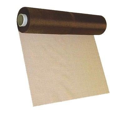 29cm x 26m Sheer Organza Roll Mocha - Perfect as Christmas Decorations, Table Runners or Chair Sashes