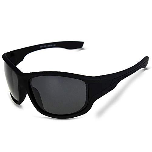 Sport-Sonnenbrillen, Vintage Sonnenbrillen, Black Plastic Polarized Sunglasses Men Outdoor Sport Sun Glasses Fishing Oculos De Sol Goggles Hot Sale 5101matteblack
