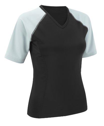 GetYourselfFitter T-shirt de running à manches courtes pour femme gris - Gris