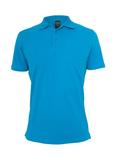 Urban Classics Herren Polo Shirt Basic Türkis
