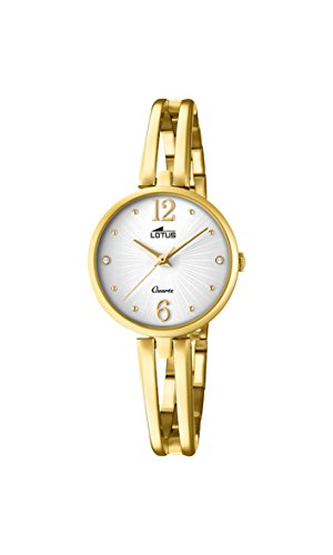 Lotus Watches Womens Analogue Classic Quartz Watch with Stainless Steel Strap 18443/1