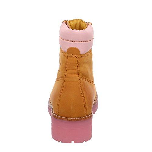 Panama Jack Panama 03  Damen Kalt gefüttert Classics Kurzschaft Stiefel & Stiefeletten Vintage/Rose