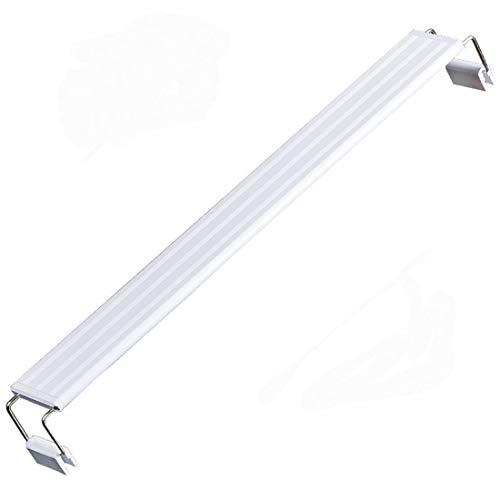 LHY LIGHT Plafoniera Acquario Dolce Lampada a LED per Acquario Lampada da Pesca a Luce Bianca,28CM