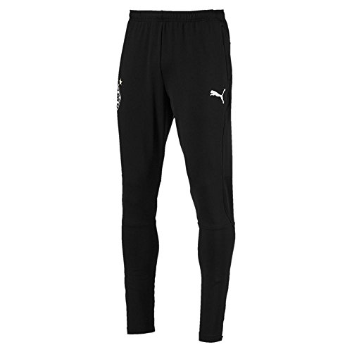 PUMA Herren BMG Training Pants Pockets with Zippers Hose, Black, XXL -