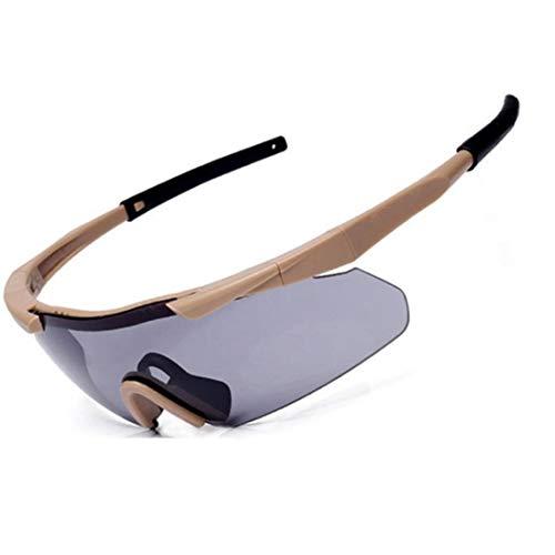 Yiph-Sunglass Sonnenbrillen Mode Polarisierte Sport-Sonnenbrille für das Fahren der Sonnenbrille des Fischen-Golf-UV400 (Farbe : 01)