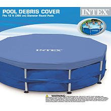 Poolabdeckung - Intex - 0078257584116