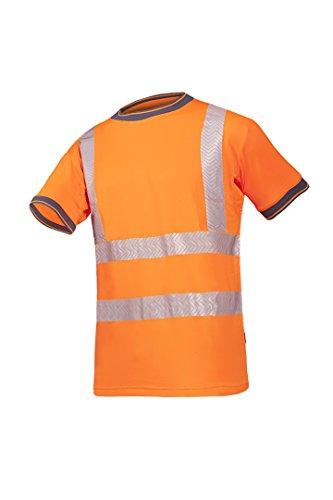 SIOEN SIOEN 3876A2MC3FC1M Rovito Hi-Vis T-Shirt, Größe M, Orange