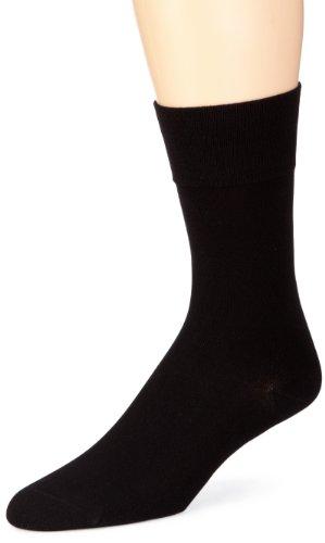 ELBEO Herren Sensitive Bamboo M Socken, Schwarz (9500 schwarz), 43-46