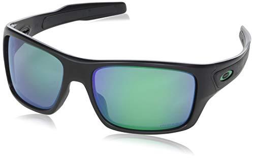 Oakley Herren Turbine Sonnenbrille, Schwarz (Negro), 63