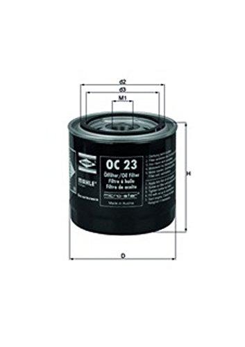 Knecht OC 23 Filtre à huile