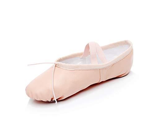 Dogeek?scarpe?da?ballerina?scarpe?da?ballo?scarpe?danza?classica (28 eu, nudo)