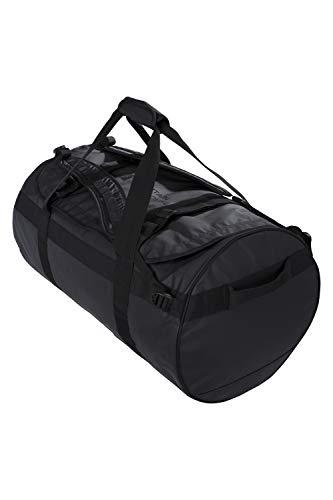 Mountain Warehouse Vielseitige Cargo-Tasche mit Schultergurt 90 Liter Schwarz - Rucksack Base