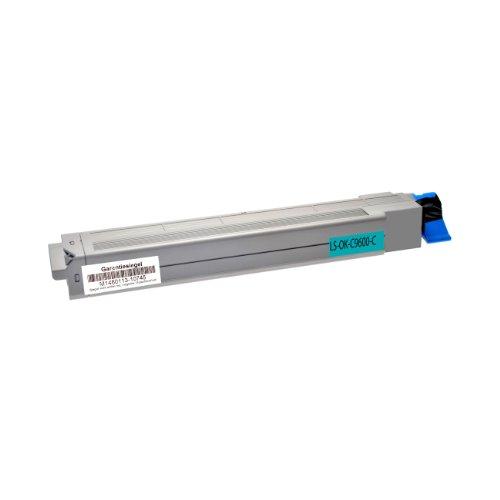 Preisvergleich Produktbild Toner für OKI C9600 cyan - Cyan,  15.000 Seiten,  kompatibel