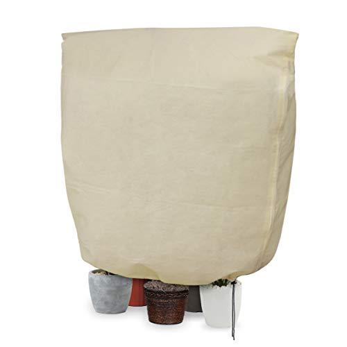landrip sacco di protezione invernale per piante, cappuccio protezione piante, 70g/mq, 240x200cm