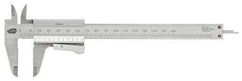 Standard N-Gage 00514016Nonio de calibre Vernier (con palancas de sujeción, 0mm-150mm, 0,02mm