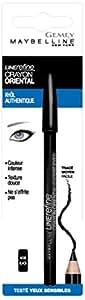 Gemey Maybelline - 3017563241808 - Crayon Oriental - Liner khôl - Noir