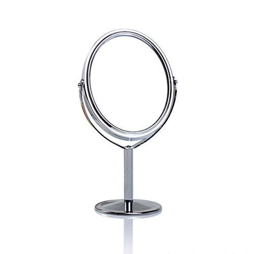 WULEI Espejo cosmético con iluminación LED - Espejo Normal y con 7 aumentos - Espejo para maquillarse...