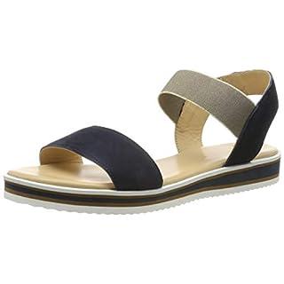 ARA Women's Durban 1214730 Ankle Strap Sandals, (Blue 02), 6 UK