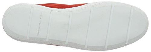 Kennel Und Schmenger Schuhmanufaktur Fresh, Baskets Basses femme Rouge - Rot (rot/bianco S. weiss 582)