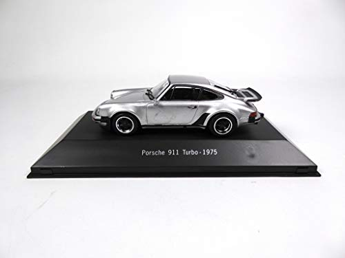 Atlas Porsche 911 Turbo (930) 1975 Silber 1/43 - Ref: 4005 -
