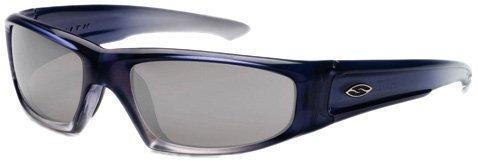 Smith Sonnenbrille Herren, HUDSON,5AG Blue Fade, PL-MIR SILVER, 2410955AG00VS