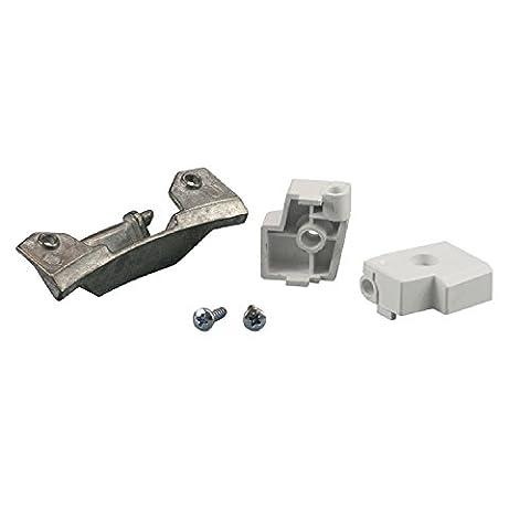 Scharnier Türscharnier komplett Waschmaschine und Trockner wie 153693 Bosch Siemens Balay Constructa 00153693