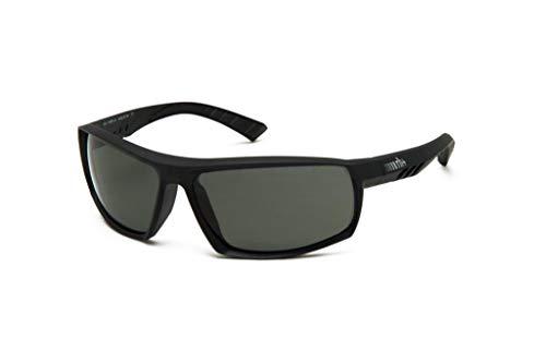 R/H 0rh871z 35, Herren Sonnenbrille, Matt Schwarz Polar Grey, Einheitsgröße