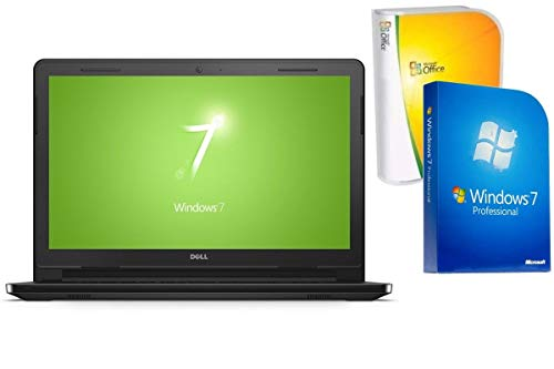 Notebook Dell 3552 - 8GB RAM - 1000GB HDD - Windows 7 Pro + Office - 39cm (15.6