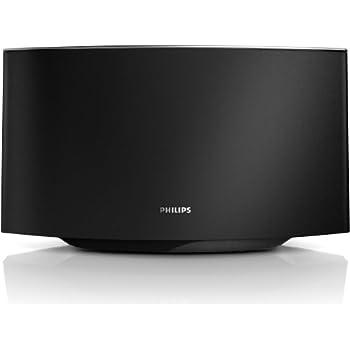Philips Fidelio AD7000W/12 Sound Avia AirPlay-Lautsprecher (40 Watt RMS) mit Easy-AirPlay, schwarz/silber
