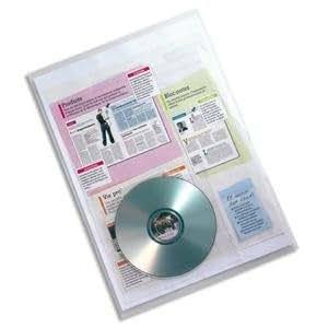 Elba Sachet de 10 pochettes-coin PP emplacement CD