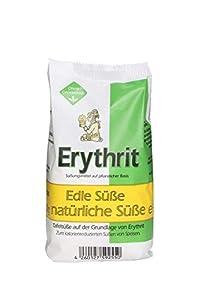 EUROVERA Erythrit Granulat, natürliches Süßungsmittel, 6er Pack (6 x 500 g)