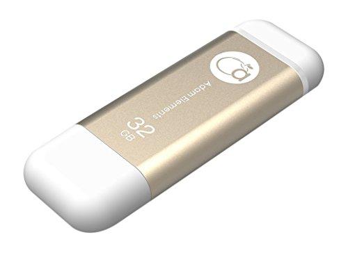 adam-elementsr-iklips-2-en-1-mfi-certifie-lightning-et-usb-30-flash-drive-cle-usb-memory-stick-appar