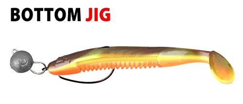 Spro Bottom Jig - Bleiköpfe zum Jiggen, Jigköpfe zum Gummifischangeln, Bleikugel zum Jigangeln, Gewicht / Inhalt:5g - 6 Stück