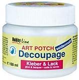Kreul 48252 - Art Potch Decoupage Kleber und Lack seidenmatt, 250 ml