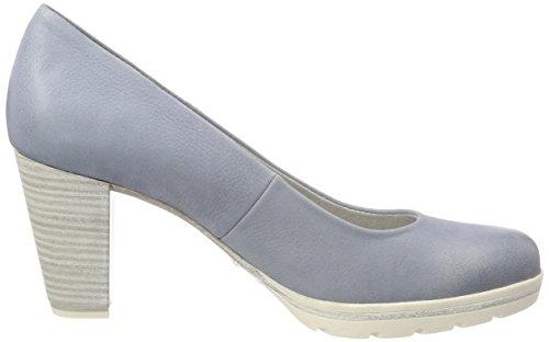 Marco Tozzi Premio22419 - Chaussures À Talons Bleus Pour Femmes (denim)