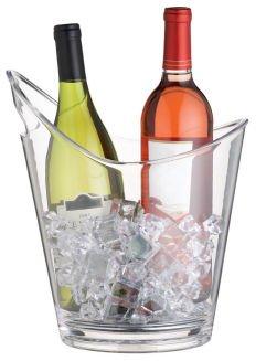 Bar Craft KCBCCURVO Weinkühler, durchsichtig