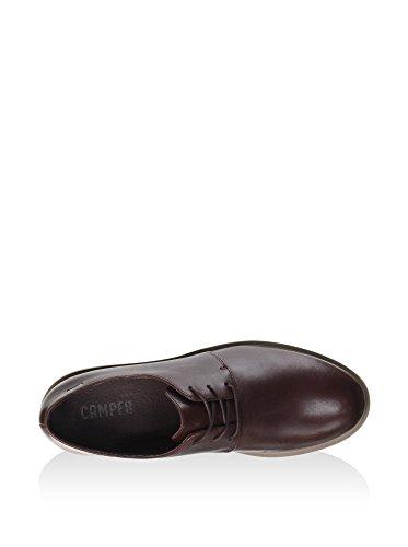 CAMPER  K200114-010, Chaussures de ville à lacets pour femme rouge Rot rouille