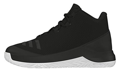 adidas Jungen Outrival 2016 K Basket, Multicolore (Cblack/Cblack/Ftwwht), 38 EU